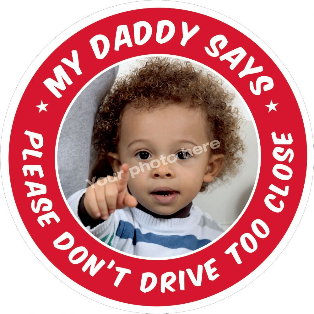 My Daddy Says sticker